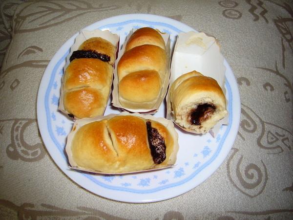 96.5.22巧克力麻糬麵包