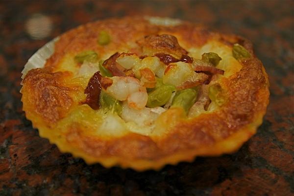 97.3.5培根海鮮披薩