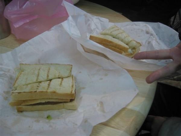 廟口的營養三明治