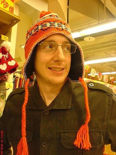 我說這..帽子也太娘了吧!?