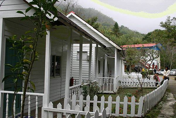 住的小木屋