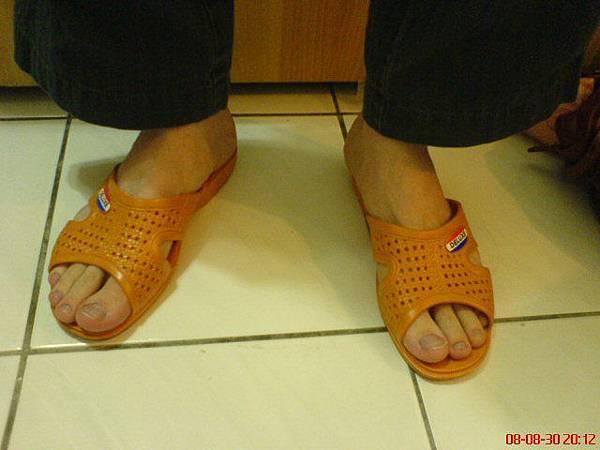 舒服拖鞋:80元