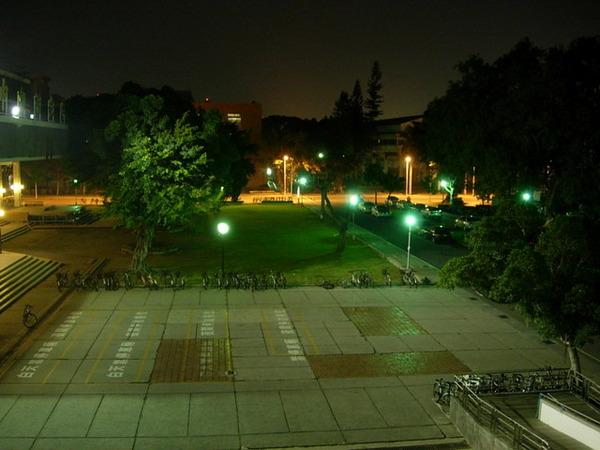 夜晚的成大校園一隅 1