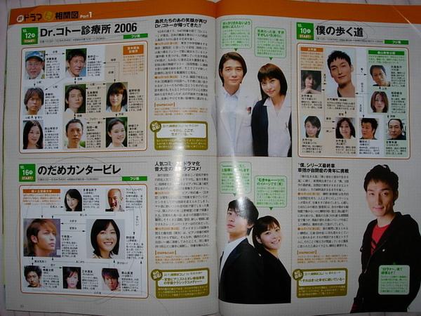 2006強檔秋冬日劇