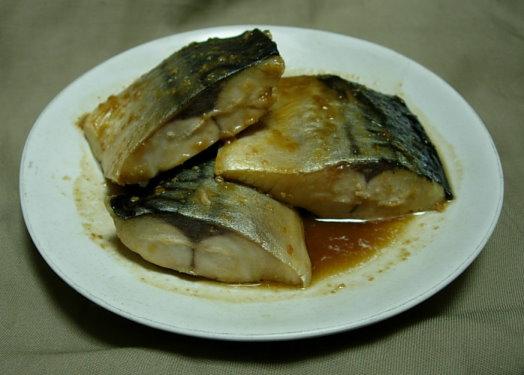 070703 鯖魚味噌煮 02