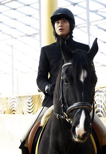 《宮》有誰穿騎馬裝騎馬能比朱智勛更帥?