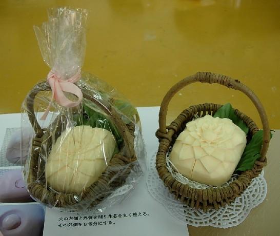 070804 香皂雕刻@自由が丘 1