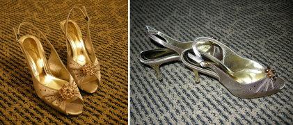 2007年10月台灣行之未參加婚禮買的漂亮趴替鞋 071028