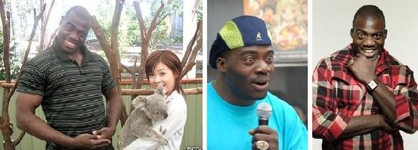 日本有名黑人 Bobby Ologun