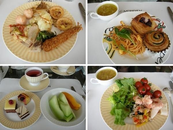 台場「LE MERIDIEN」飯店的中午吃到飽自助餐