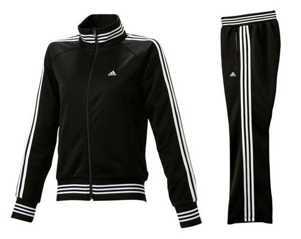Adidas 愛迪達2008年款黑色運動服