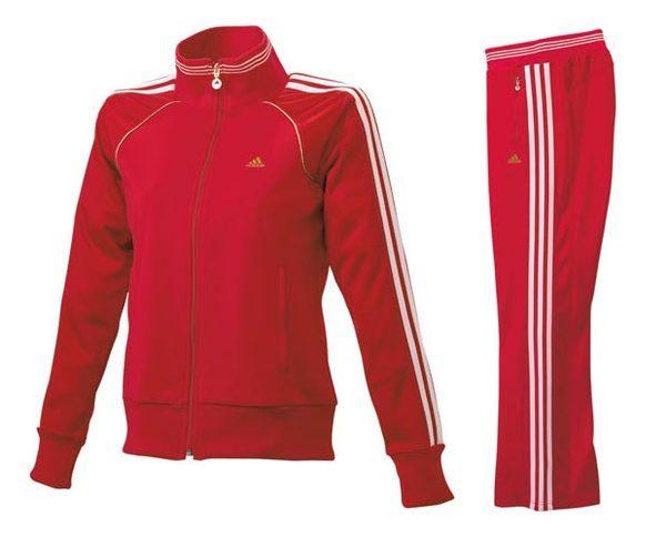 Adidas 愛迪達「ごくせん」款可愛紅色運動服