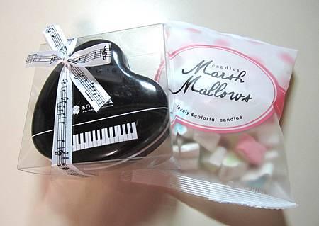 菓風小舖 -- 浪漫樂章巧克力 和 棉花糖