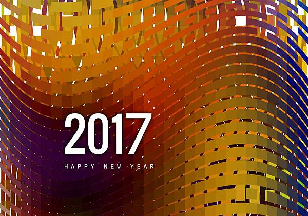 greeting-card-of-happy-new-year-2017