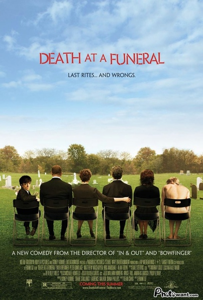 at a Funeral