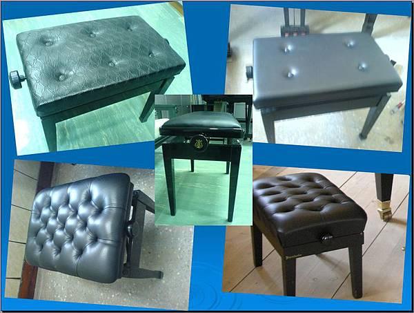 琴椅(升降椅各式型式)