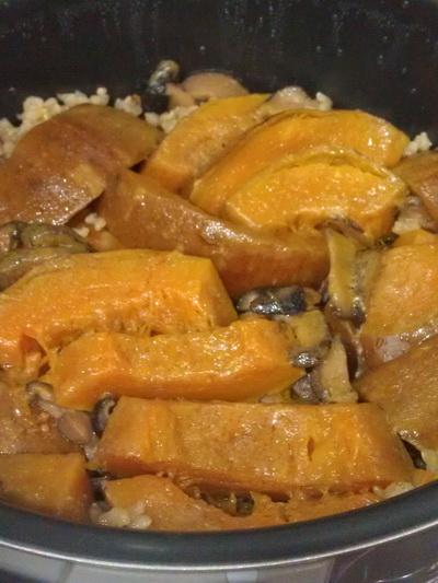 香菇南瓜飯