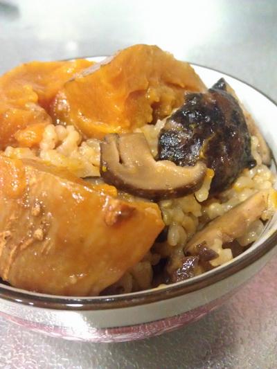 香菇南瓜飯2