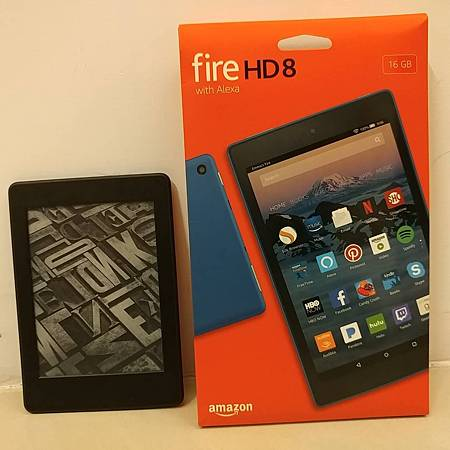 All New Fire HD 8 包裝盒