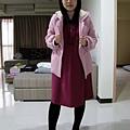 2009.11.17 粉紅暖冬裝