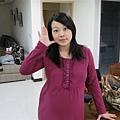 2009.12.25 一直裝可愛的豬媽