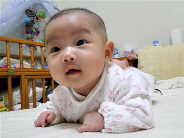 2010.04.11 小草莓練習趴趴~爸比說好像:埃及 人面獅身~噗