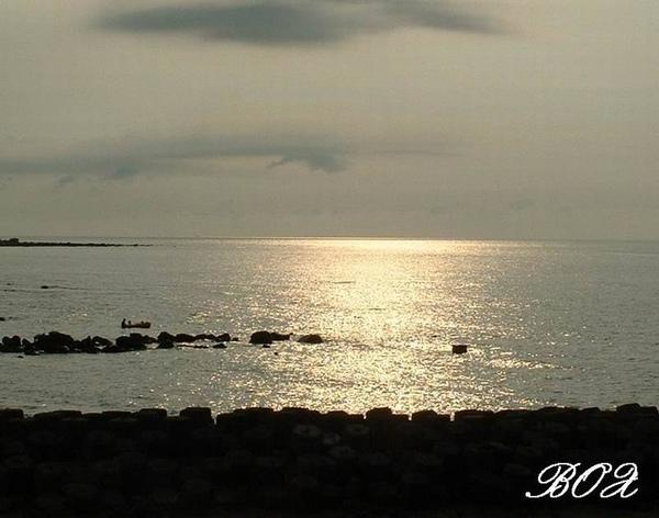 三芝的夕陽