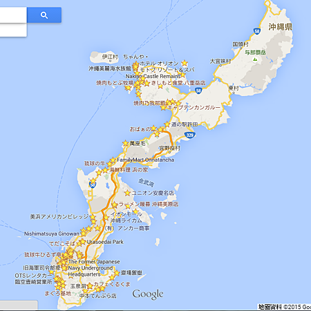 google map - okinawa