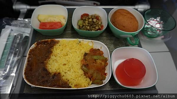 特別餐:印度素食餐 第一餐