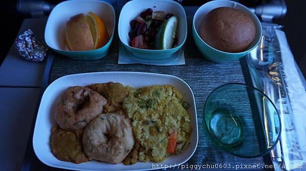 特別餐:印度素食餐 第二餐 (應該算早餐類)