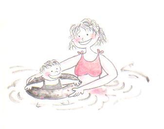 20100818寶貝學游泳.JPG