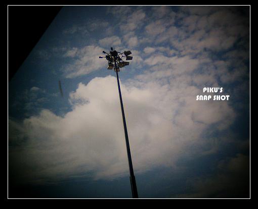 泰北…機場探照燈