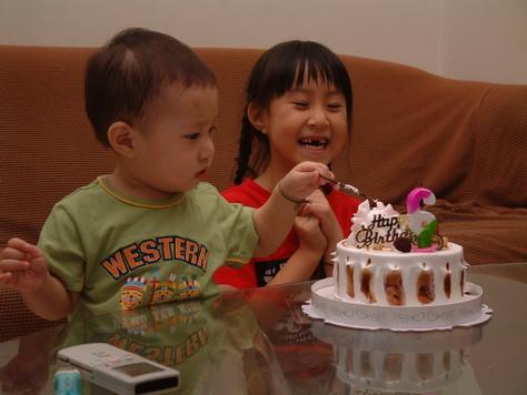 庭--六歲生日