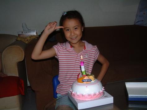 庭--八歲生日