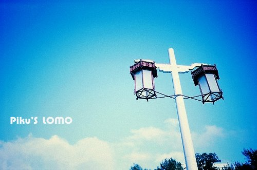 淡江大學--路燈