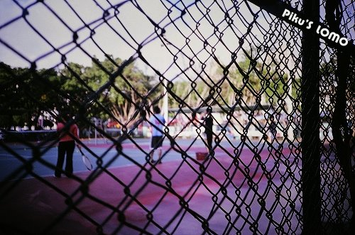 淡江大學--網球場