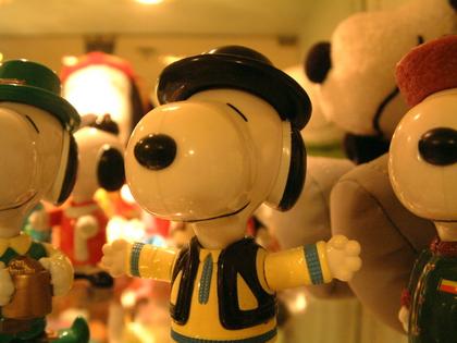 香港--麥當勞史努比玩具(二)