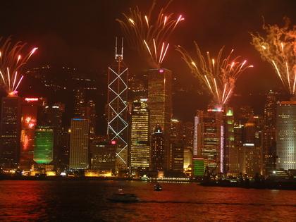 香港--煙火(二)