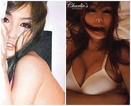 香港女模許穎在寫真大秀D奶好身材.JPG