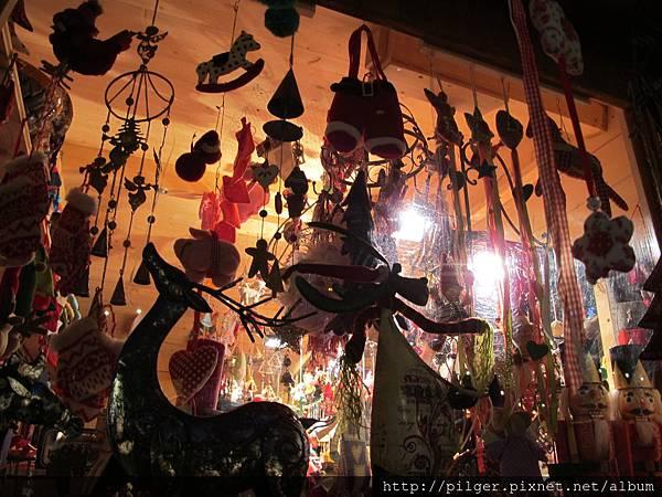 維也納聖誕市場 櫥窗展示