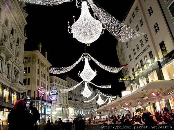 (維也納) 聖誕燈海