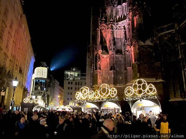 (維也納-2013) 聖誕燈海