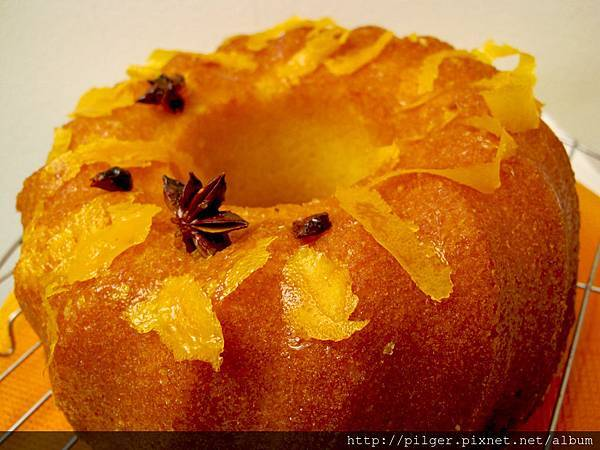 柳橙棒棒蛋糕