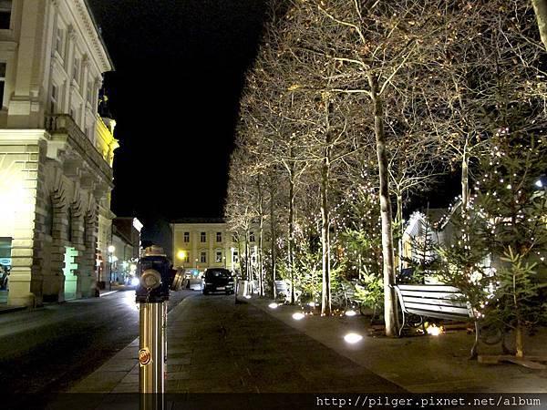 [冬遊-年末夜遊] 克拉根福市