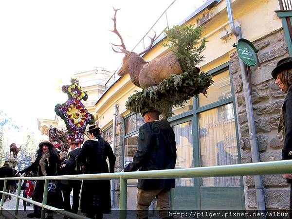 [冬遊-開年遊行] 奧地利 迎新年