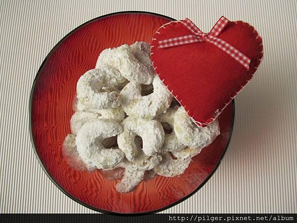 P.S. 我愛你 香草月牙餅乾
