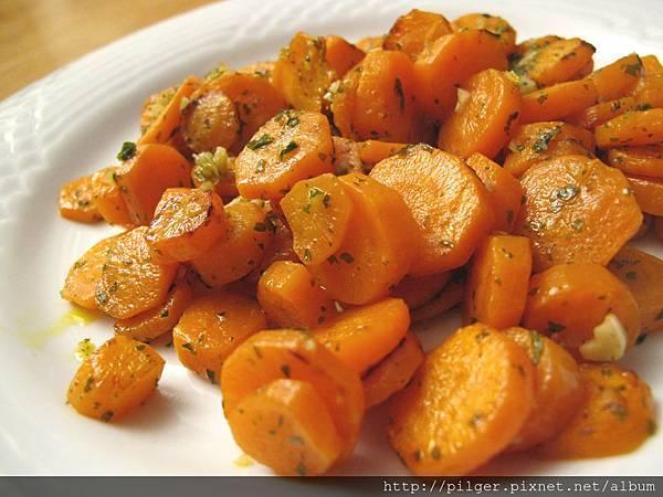[素季節 素享受] 義式 蒜香紅蘿蔔