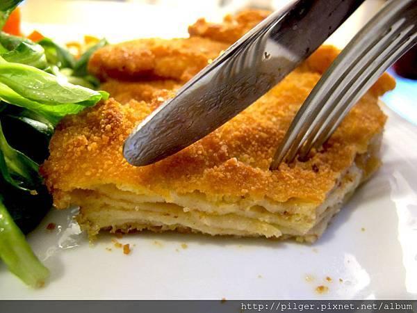 [素季節 素享受] 西式 酥炸起司蛋餅 Palatschinken mit Kaese
