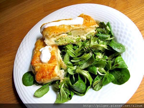 綠花椰菜起司起酥