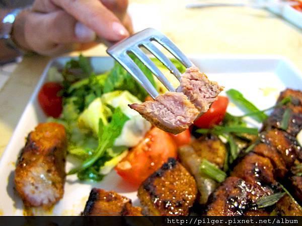 歐式豬肉串燒